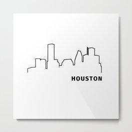 Houston Metal Print