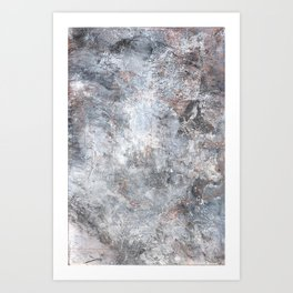 Burned Copper C Art Print