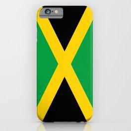 Flag of Jamaica - Jamaican flag iPhone Case