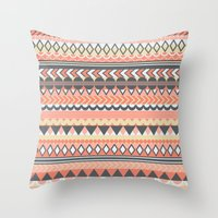 bohemian Throw Pillows featuring Bohemian  by emain
