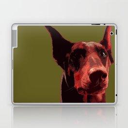 Doberman, majestic dog Laptop & iPad Skin