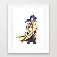 palo alto Framed Art Prints featuring Alto by Hagosan