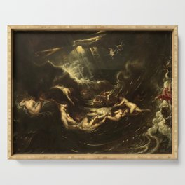 Hero and Leander by Peter Paul Rubens (1605) Serving Tray
