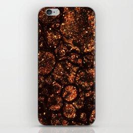 Dark Bubbles iPhone Skin