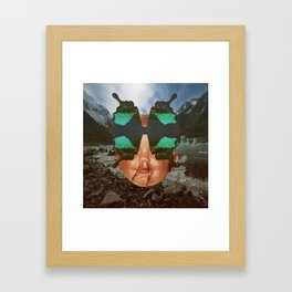 BUTTERFLY BOY Framed Art Print