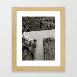 The Arena  Framed Art Print