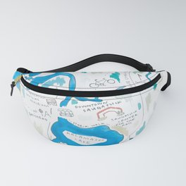 Saugatuck Area Fanny Pack
