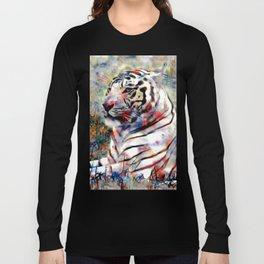 vibrant tiger Long Sleeve T-shirt