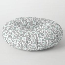 Watercolor Gravel - Pattern Floor Pillow