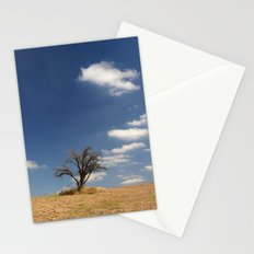 Clouds and tree... Stationery Cards