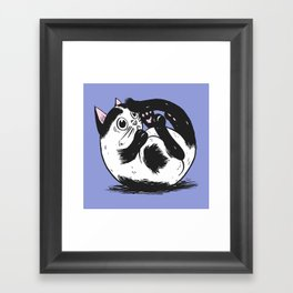 What is that thing?! Framed Art Print