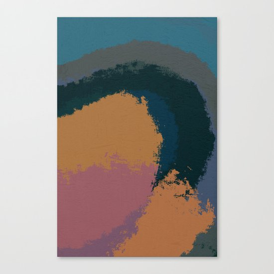 Driving Around Canvas Print
