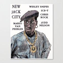 New Jack City Canvas Print