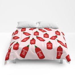 Hot Sauce Bottles Comforters