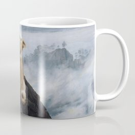 The Wanderer Above the Sea of Doge Coffee Mug