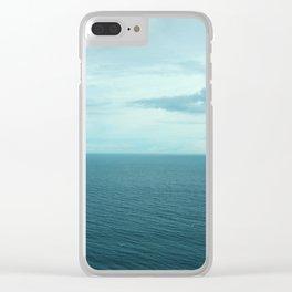 Uluwatu View Clear iPhone Case
