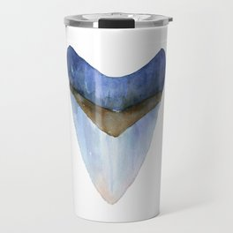 Blue Shark Tooth Travel Mug