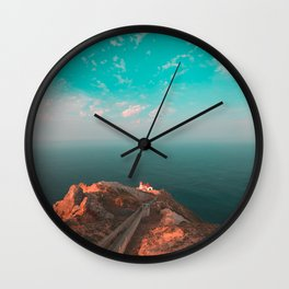 Point Reyes Lighthouse Morning Wall Clock