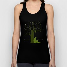 Apple CircuiTree Unisex Tank Top