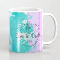 scuba Mugs featuring Scuba Steve by Even In Death