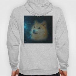 shibe doge in space Hoody