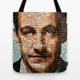 BEHIND THE FACE Sarkozy | Napoleon Tote Bag
