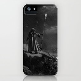 March of the Necromancer iPhone Case