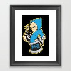 8bomb Framed Art Print