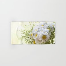 Bouquet of daisies in LOVE - Flower Flowers Daisy Hand & Bath Towel