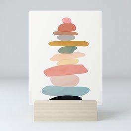 Balancing Stones 22 Mini Art Print
