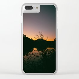 Last Remaining Light (Holme Fen) Clear iPhone Case