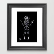 Apathetic Framed Art Print