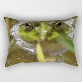 The Frog 518 Rectangular Pillow