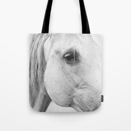 Horse Photography | Wildlife Art | Farm animal | Horse Eye Closeup | Animal Photography Tote Bag