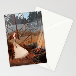 Late november Stationery Cards