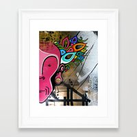 creativity Framed Art Prints featuring Creativity by Connor Beale
