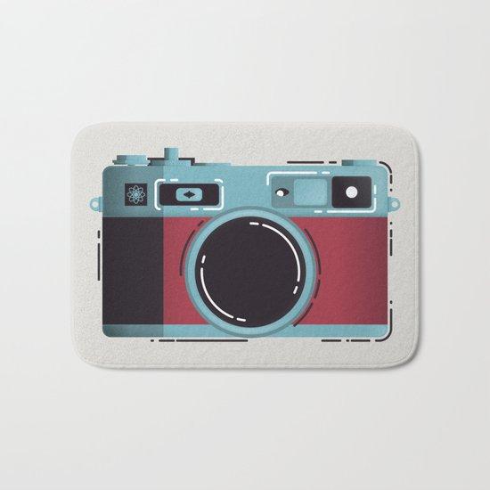 Little Yashica Camera Bath Mat