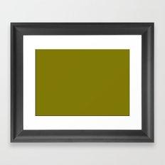 NOISY DARK MOON Framed Art Print
