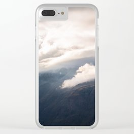 Sunlight over Zermatt Clear iPhone Case