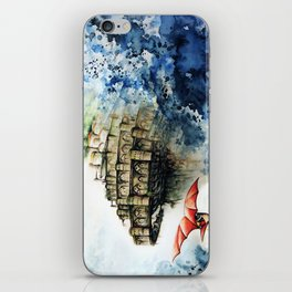 """""""The castle in the sky"""" iPhone Skin"""
