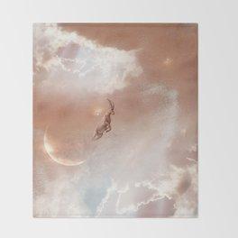 Sky Ram Throw Blanket