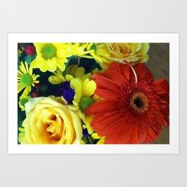 Flower Explosion Art Print
