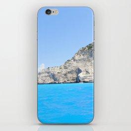 Ship Wreck Beach, Zakynthos, Greece iPhone Skin