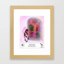 The Rose Window Framed Art Print