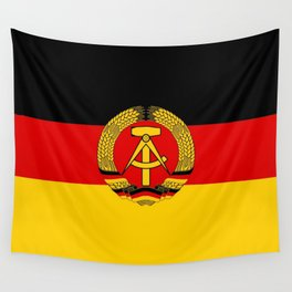 flag of RDA Or east Germany Wall Tapestry