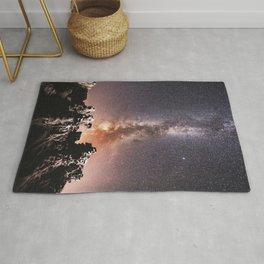 Milky Way Stars Southwestern Desert Rug