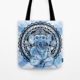 Ganesha Mandala Tote Bag