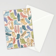 Digging in my closet - aka the Shoe Pile Stationery Cards