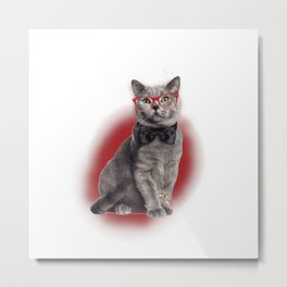 Are you a cat,sir? Metal Print
