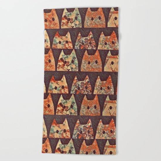 cat-69 Beach Towel